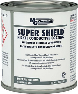 SUPER SHIELD™ Nickel Conductive Coating - UL Recognized (mg_841AR-150ML)