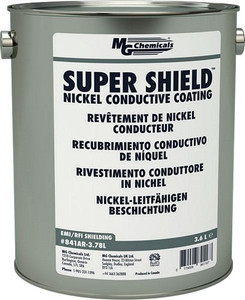 SUPER SHIELD™ Nickel Conductive Coating - UL Recognized (mg_841AR-3.78L)