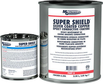 Silver Coated Copper Epoxy Conductive Coating (mg_843ER-800ML)
