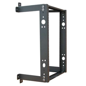 "19"" WALL RACK 20 RMS 12"" DEPTH 35"" HEIGTH. BLACK"