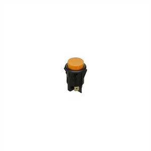 Philmore 30-765 Lighted Round Push Button Switch,SPST 16A,ON-OFF,Amber (lkg_30-765)