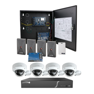 ( speco_ACKIT2VID ) Access Control Kit Bundle with NVR and Camera
