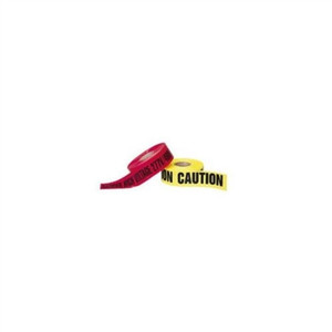 """Barricade Tape, ""Caution"", Yellow, 3"" x 1,000'"" (42-001)"