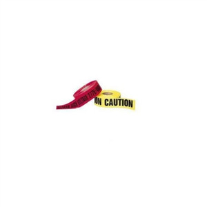"""Barricade Tape, ""Caution Do Not Enter"", Yellow, 3"" x 1000', 2 Mils"" (42-012)"
