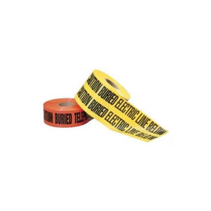 """Non-Detect Underground ""Caution Buried Fiber OpticLine"", Orange, 3"" x 1,000"" (42-104)"