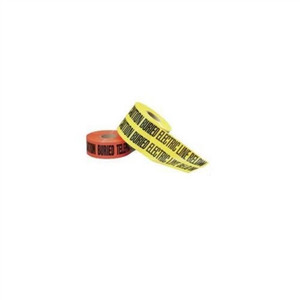 """Non-Detect Underground ""Caution Buried Electric Line"", Red, 6"" x 1,000'"" (42-151)"