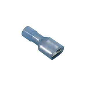 """Female Disconnect, Nylon Fully-Insulated, 22-18 AWG, .250"" x .032"" Tab (Bulk)"" (84-9771)"