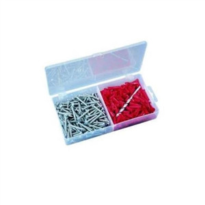 """Flange Anchor Kit, Red, 10-12, #12 x 1"" Screws"" (90-053)"