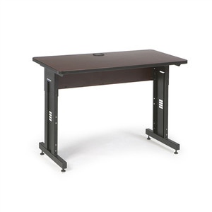 "48"" W x 24"" D Training Table - African Mahogany (5500-3-004-24)"