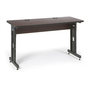 "60"" W x 24"" D Training Table - African Mahogany (5500-3-004-25)"