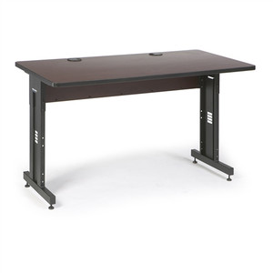 "60"" W x 30"" D Training Table - African Mahogany (5500-3-004-35)"