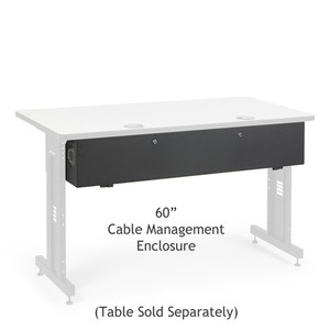 "60"" Training Table Cable Management Enclosure (5500-3-100-60)"