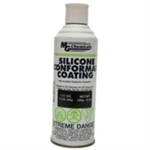 Ideal for high temperature environments. Silicone Conformal coating is a flexible finish product that provides a protective coating for printed circuit boards against moisture; corrosion; and thermal shock. It protects and insulates electrical and electro