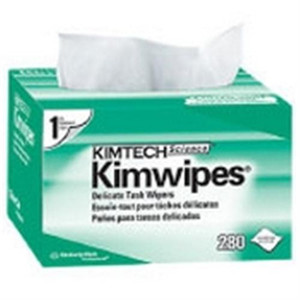 KIMTECH SCIENCE* KIMWIPES* Delicate Task Wiper is alight duty wiper that can handle a variety of delicate tasks.Easily wipes up liquid and dust. Anti-stat dispensing reduces lintand electrostatic discharge; controls usage and portabilityreduces waste.