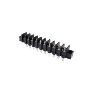 TERMINAL BLOCK BARRIER 10 POLE 9.50MM PITCH 300V 25A SOLDER TERMINALS 22-12AWG WIRE RANGE (25-B100-10)