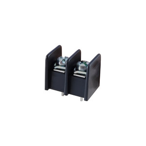 TERMINAL BLOCK BARRIER 2 POLE 9.50MM PITCH 300V 25A PC MOUNT TERMINALS 22-12AWG WIRE RANGE (25-B200-02)