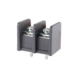 TERMINAL BLOCK BARRIER 2 POLE 11.00MM PITCH 300V 25A PC MOUNT TERMINALS 22-12AWG WIRE RANGE (25-B400-02)
