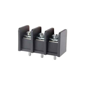 TERMINAL BLOCK BARRIER 3 POLE 11.00MM PITCH 300V 25A PC MOUNT TERMINALS 22-12AWG WIRE RANGE (25-B400-03)
