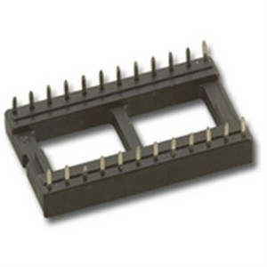 """IC SOCKET,24 PIN 15.2mm PIN TO PIN WIDTH"" (SCL-24)"