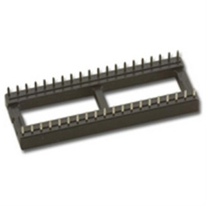 """IC SOCKET, 40PIN 15.2mm PIN TO PIN WIDTH"" (SCL-40)"
