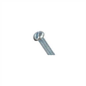 """Philmore 10-422 Steel Round Head Slotted Screw, 2-56 x 1/4"", 20 Pack"" (10-422)"