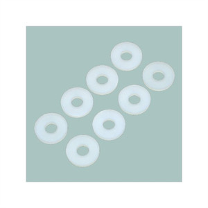 """Philmore 10-501 Nylon Flat Washer, #10 x 3/8"" , 25 Pack"" (10-501)"