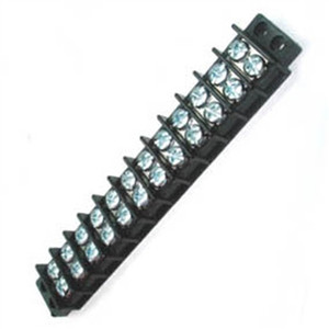 30 Amp Dual Row Terminal Block - 12 Pole : 13-1412 (13-1412)