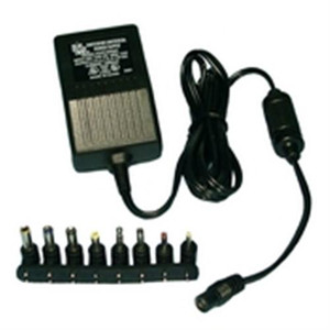 """110VAC to 3,4.5,6,7.5,9,12VDC 1000mA AC/DC Adapter"" (48-1088)"