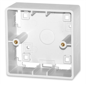 Surface Mount Box for 86 x 86 (SMB-85-WH)