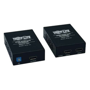 """HDMI over Cat5/Cat6 Active Extender Kit, Box-Style Transmitter & Receiver for Video and Audio, 1080p @ 60 Hz"" (tripp_B126-1A1)"