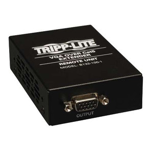 """VGA over Cat5/Cat6 Extender, Box-Style Receiver, 1920x1440 at 60Hz, Up to 1000-ft."" (tripp_B132-100-1)"