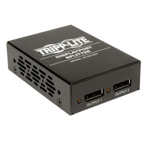 """2-Port DisplayPort 1.2 Multi-Stream Transport (MST) Hub, 3840 x 2160 4Kx2K UHD"" (tripp_B156-002)"