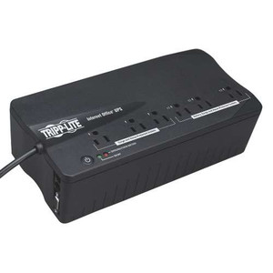 """Internet Office 120V 350VA 180W Standby UPS, Ultra-Compact Desktop, 6 Outlets, DB9 Serial port"" (tripp_INTERNET350SER)"