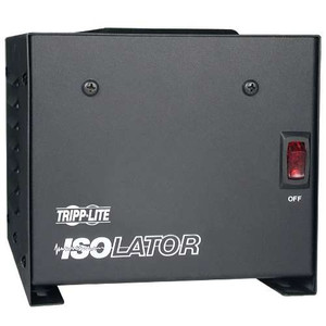 """Isolator Series 120V 500W Isolation Transformer-Based Power Conditioner, 4 Outlets"" (tripp_IS-500)"