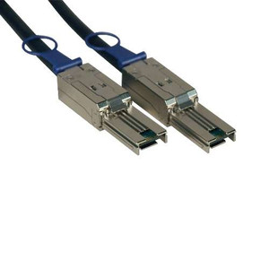 SAS Cable - 1-Meter External SAS Cable; Mini-SAS (SFF-8088) to Mini-SAS (SFF-8088)