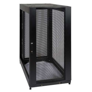 """25U SmartRack Standard-Depth Rack Enclosure Cabinet, Expansion Version - side panels not included"" (tripp_SR25UBEXP)"