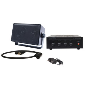 ( speco_2WAK3 ) Two-way Audio Kit for DVR's with PBM30 Amplifier
