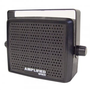 ( speco_AES4 ) 10W Amplified Deluxe Professional Communications Speaker