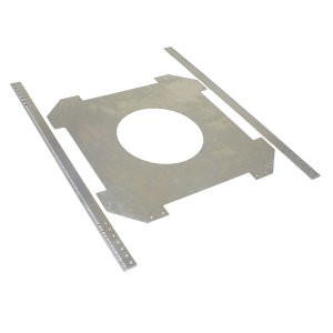 "BRC8F: In-Ceiling Bracket for 8"" Speaker (Pair) 9 7/8"" cutout dim."