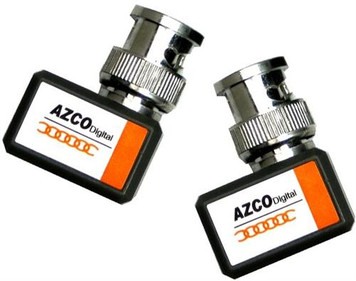 1 CHANNEL PASSIVE VIDEO BALUN - MINI(PAIR) azco_AZBLN203