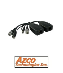 1 CHANNEL PREMIUM PASSIVE VIDEO/POWER/DATA  BALUN.  (PAIR) azco_AZBLN216