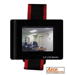 "2.5"" CCTV Test Monitor azco_AZTEST"