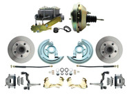 "DBK6472-GM-209 1964-1972 Chevelle, El-Camino 1967-1969 Camaro & 1968-1974 Nova Disc Brake Conversion Kit & 9"" Single Delco Booster Conversion Kit"