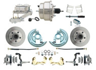 "DBK6472-GM-311 1964-1972 Chevelle, El-Camino 1967-1969 Camaro & 1968-1974 Nova Disc Brake Conversion Kit 8"" Chrome Booster Conversion Kit"