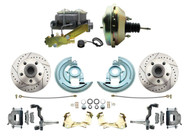 DBK6472LX-GM-209 1964-1972 Chevelle, El-Camino 1967-1969 Camaro & 1968-1974 Nova Disc Brake Conversion Kit