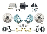 DBK6472LX-GM-702 1964-1972 Chevelle, El-Camino 1967-1969 Camaro & 1968-1974 Nova Disc Brake Conversion Kit