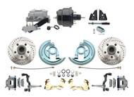 DBK6472LX-GM-709 1964-1972 Chevelle, El-Camino 1967-1969 Camaro & 1968-1974 Nova Disc Brake Conversion Kit