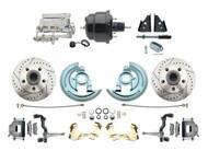 DBK6472LX-GM-710 1964-1972 Chevelle, El-Camino 1967-1969 Camaro & 1968-1974 Nova Disc Brake Conversion Kit
