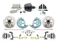 DBK6472LX-GM-711 1964-1972 Chevelle, El-Camino 1967-1969 Camaro & 1968-1974 Nova Disc Brake Conversion Kit