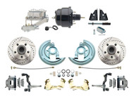DBK6472LX-GM-713 1964-1972 Chevelle, El-Camino 1967-1969 Camaro & 1968-1974 Nova Disc Brake Conversion Kit